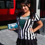 On my way to the Eagles vs Chargers game, rockin my Eagles purse!