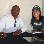 Dehlia and Tim Brown