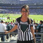 Dehlia at Eagles vs Chargers @ San Diego 2009