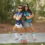 Dehlia converting girlfriends to football fans