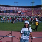 At Eagles vs 49ers @San Francisco in 2008